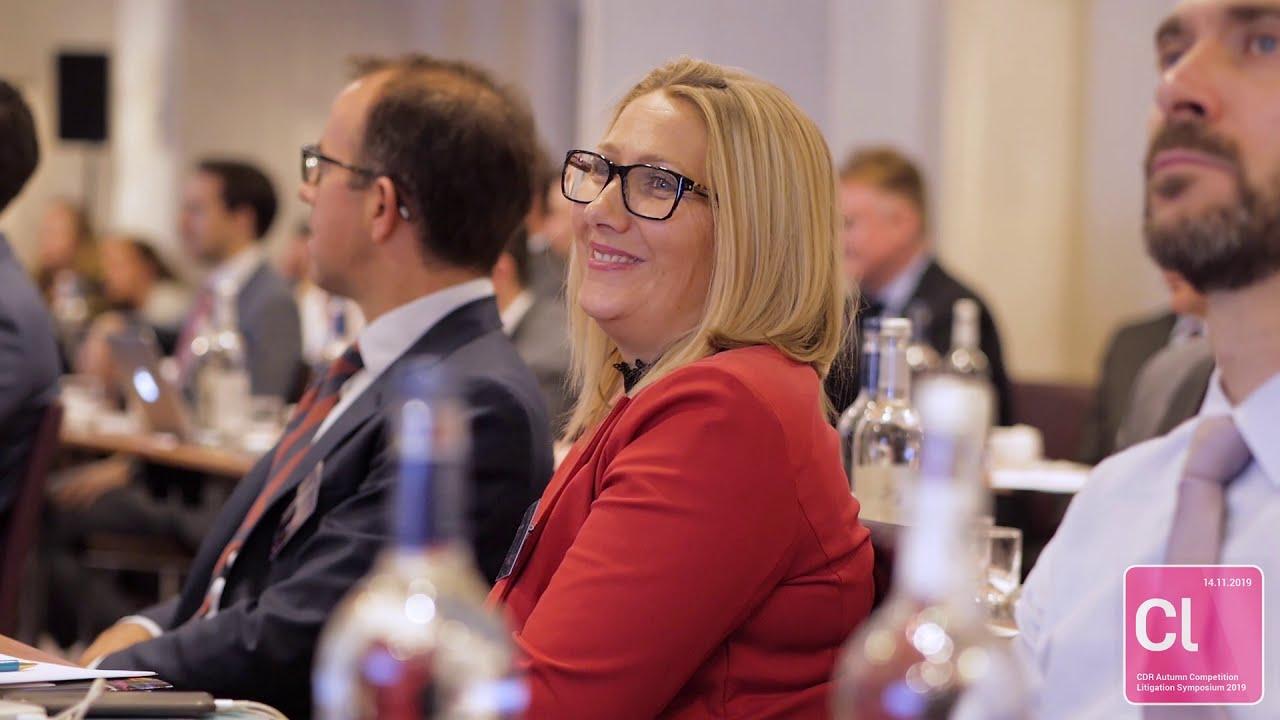 CDR Autumn Competition Litigation Symposium 2019