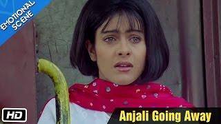 Anjali Going Away - Emotional Scene - Kuch Kuch Hota Hai - Shahrukh Khan, Kajol, Rani Mukerji width=