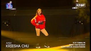 170707 KRIESHA CHU 크리샤 츄 – Trouble at SUPER POP CONCERT 2017