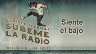 Enrique Iglesias - SUBEME LA RADIO Animated Lyric Video ft  Descemer Bueno, Zion & Lennox
