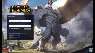 League of Legends Galio Login Screen + Music