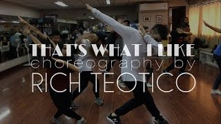 That's What I Like @BrunoMars | Choreography by Rich Teotico