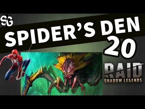 [RAID SHADOW LEGENDS] SPIDERS 20