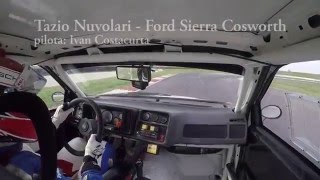 Sierra RS Cosworth on-board