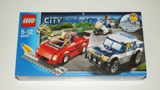 Lego City 2013 - 60007 High Speed Chase