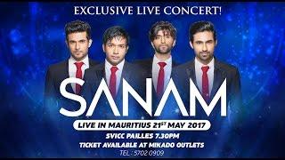 Sanam Live in Mauritius Promo