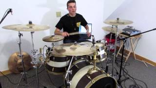 SLEEPING WITH SIRENS // Kick Me // Drum Cover (Drew Letendre)