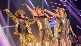 The Showbears Kylie Minogue - Britain's Got Talent 2012 Live Semi Final - UK version