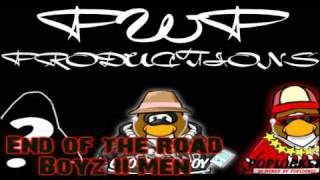 Clubpenguin-Boys II Men-End of the road
