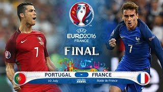France Vs Portugal Euro 2016 Final Match Winning Goal [Slow Motion]