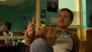 Luke Cage - Season 2: Iron Fist visits Luke Cage at Pop's Barber Shop