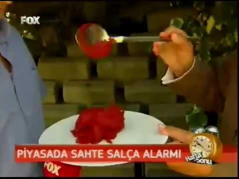 YESİDEF - FOX TV Salça da sahtekarlık 23/06/2012