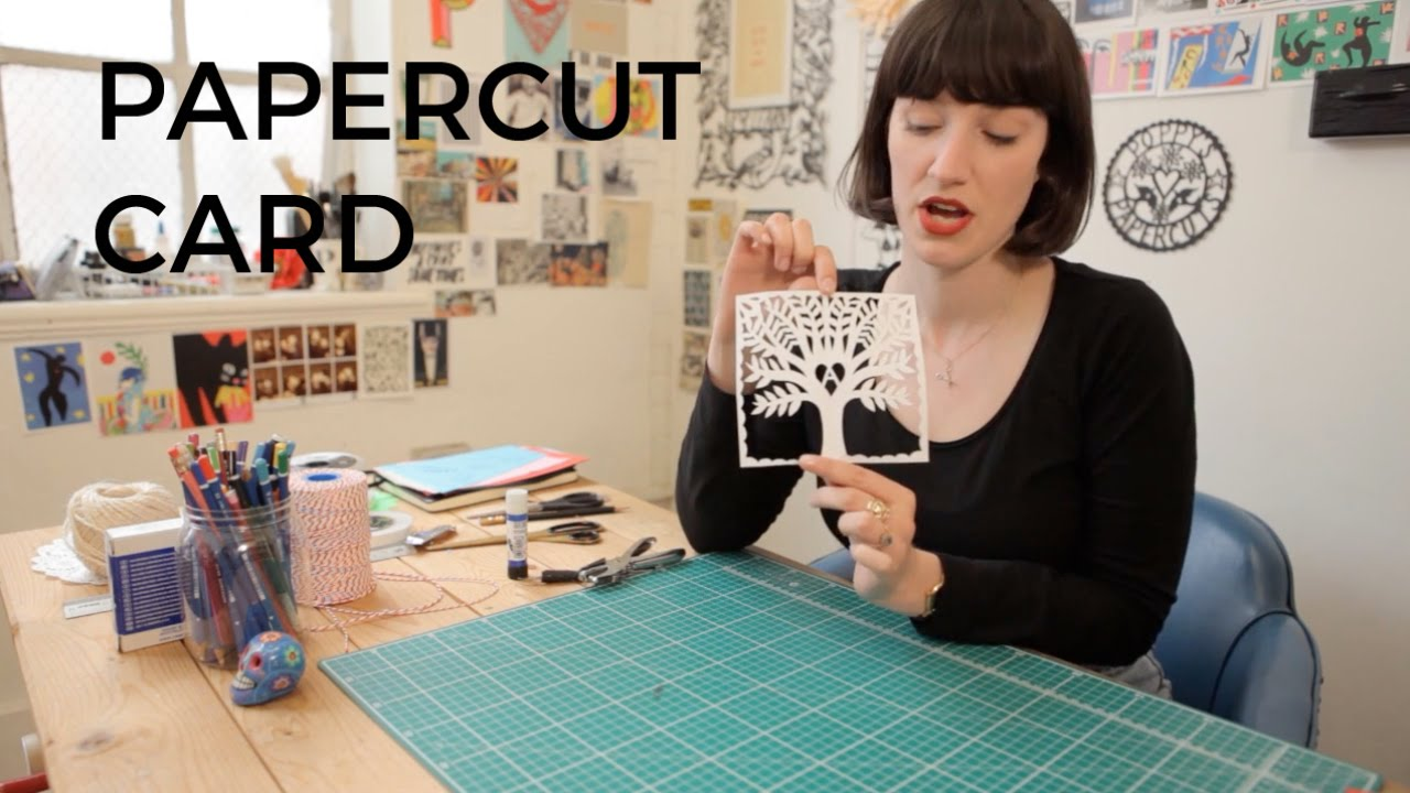 How to make a papercut card | Poppy's Papercuts