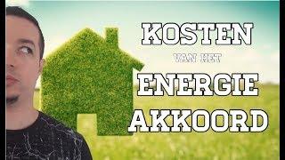 Rapport onthult megakosten van Energie Akkoord! 1600 per gezin