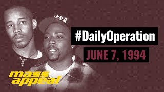 Daily Operation: Warren G and Nate Dogg's Regulate (June 7, 1994)
