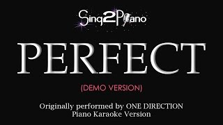 Perfect (Piano karaoke demo) One Direction