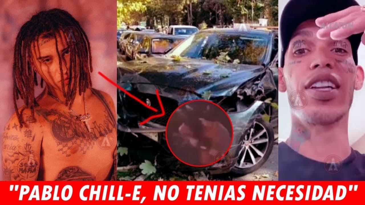 Pablo Chill-E es detenido por la policía con armas, El Dominio reacciona