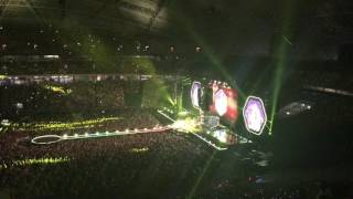 Yellow - Coldplay LIVE Singapore 31st March 2017