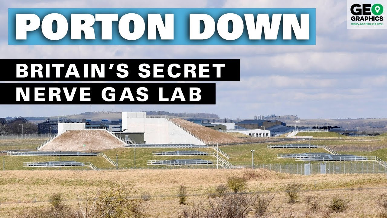 Porton Down: Britain's Secret Nerve Gas Lab
