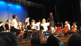 Middle School band playing Boulevard of Broken Dreams