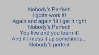 Hannah Montana - Nobody's Perfect [WITH LYRICS]