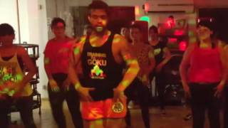Chantaje Shakira ft Maluma dance coreo ZUMBA fitness by Markos Meih