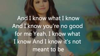 Selena Gomez - My Dilemma lyrics