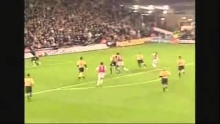 Ljungberg Vs Manchester United 3-1
