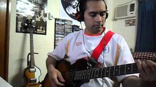 No More Lonely Nights Cover Guitar Javi
