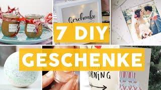 Selbstgemacht: 7 tolle Geschenk-Ideen zu Weihnachten | DIY