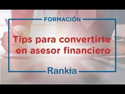 Te mostramos consejos para convertirte en asesor financiero. Los asesores viven de su cartera, así que es importante que sea vocacional. También es necesario prepararse bien, y estar enterado a diario de los indicadores económicos.