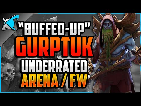 """""""BUFFED-UP"""" Gurptuk Build, Guide & Masteries 