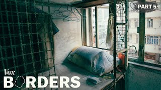 Inside Hong Kong's cage homes width=