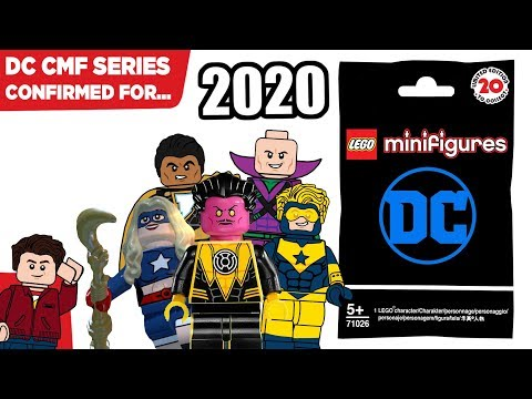 Lego Dc Cmf 2020 Leaks Series Confirmed From Leaks