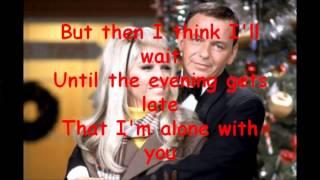 Something Stupid / Frank Sinatra - Lyric Video - HD 1080p