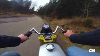 SHORT MOPED VIDEO /KREIDLER FLORETT LF /HERCULES OPTIMA 50 (camera movies)