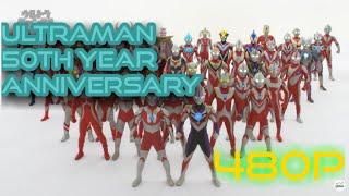 Ultraman 50th Anniversary by Tsuburaya Productions width=