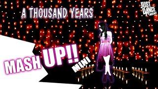 Just Dance Mini | A Thousand Years - Christina Perri ft Steve Kazee | Fan Made | Mini Mashup |