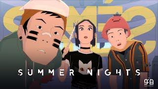 """SIAMÉS """"Summer Nights"""" [Official Animated Music Video]"""