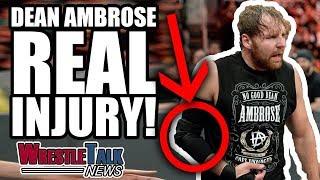 Dean Ambrose INJURED! | WrestleTalk News Dec. 2017