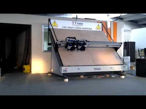 Palet Çakım CNC Video