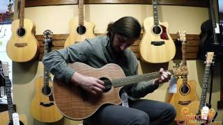 Cole Clark Guitars- Redwood & Rosewood Fat Lady Acoustic Electric Guitar