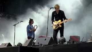 """Spoon- """"Trouble Comes Running"""" (720p) Live at Lollapalooza on August 2, 2014"""