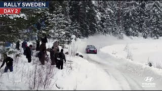 Rally Sweden Day Two - Hyundai Motorsport 2018