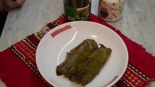 Рецепта за Бъдни вечер - Постни сарми в лозов лист
