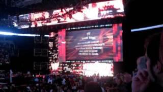 WWE Raw Live In Seattle - The Nexus Entrance [10-11-2010]