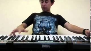 Michael Angelo Batio - No Boundaries (keyboard cover)