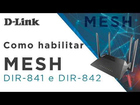 Como habilitar o MESH do DIR-841 e DIR-842