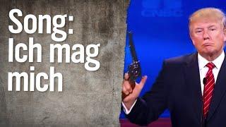 Song für Donald Trump: Ich mag mich    extra 3   NDR