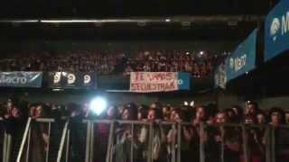 Esperando el show en Mendoza